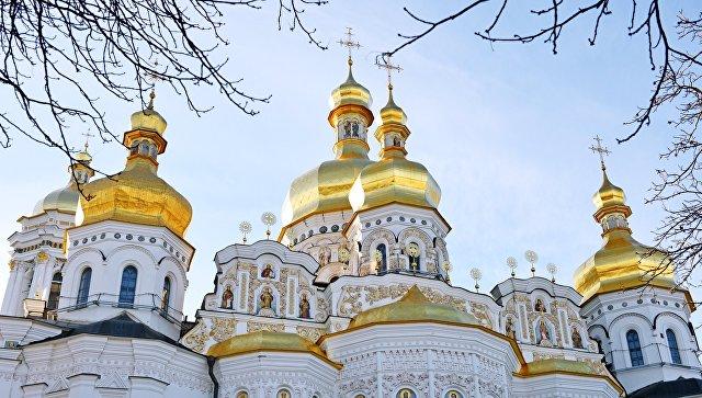 Успенский собор Киево-Печерской лавры в Киеве. Архивное фото
