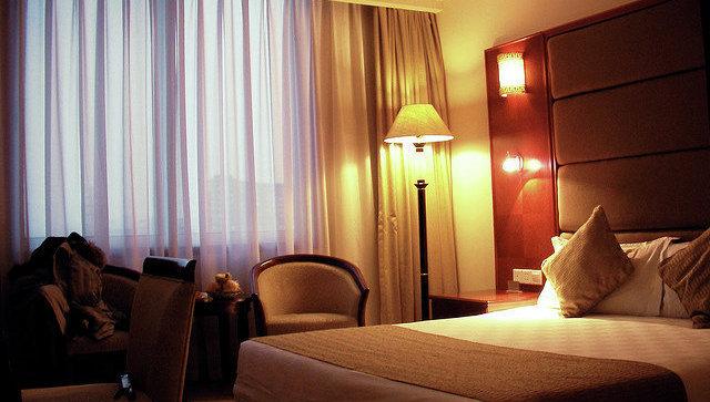 Гостиничный номер в Китае