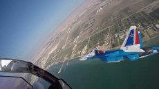 Высший пилотаж «Русских Витязей» на авиасалоне в Бахрейне