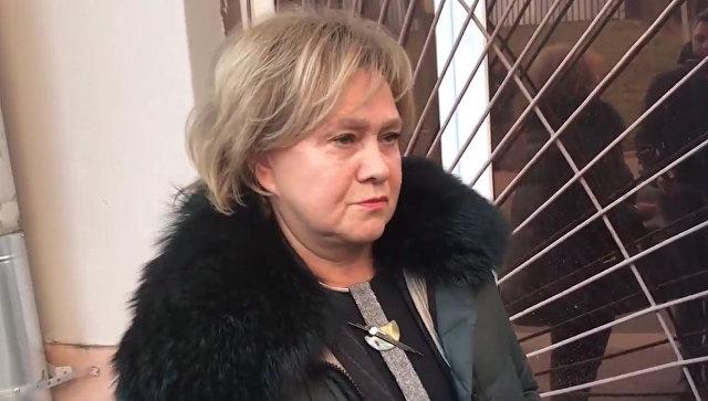 Скриншот видео, на котором адвокат Степаненко прокомментировала развод с Петросяном