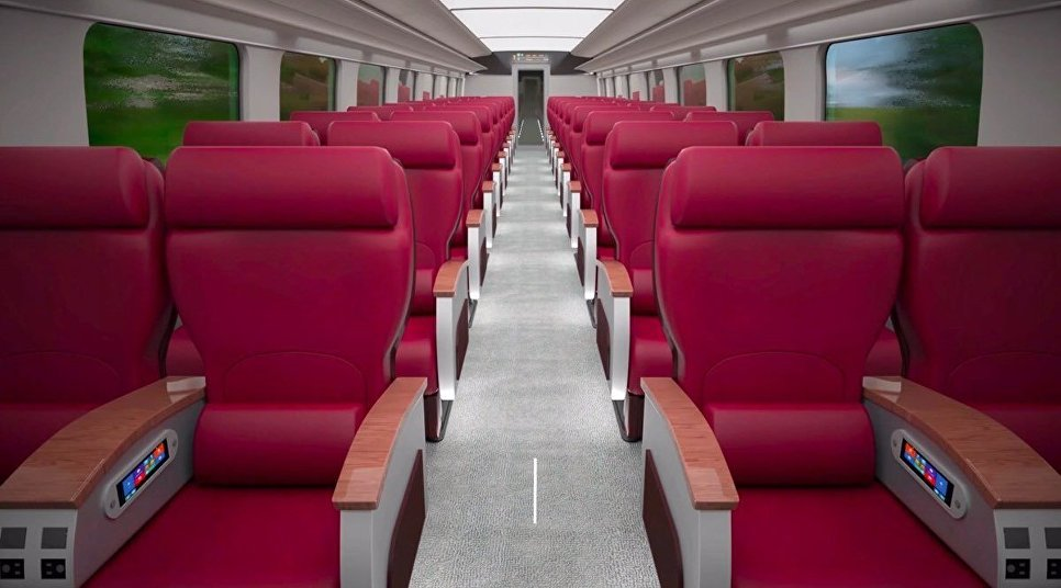 РЖД разработали концепт высокоскоростного поезда