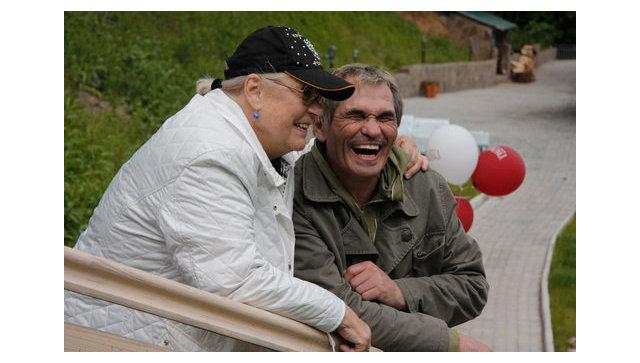 Лидия Федосеева-Шукшина и Бари Алибасов. Архивное фото