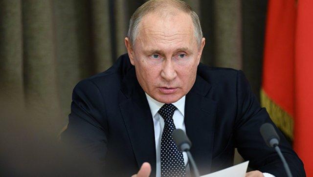 Путин заявил, что зарплаты должны выражаться в реальных деньгах