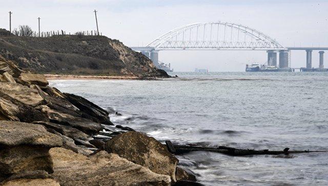 В Керченском проливе закрыли судоходство из-за непогоды