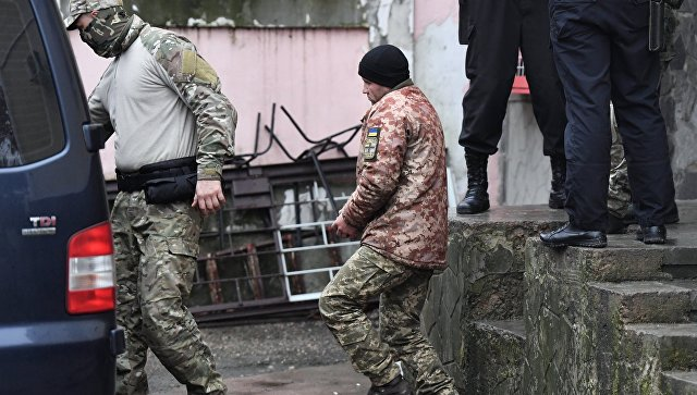 Суд в Крыму арестовал офицера ВСУ Сергея Попова