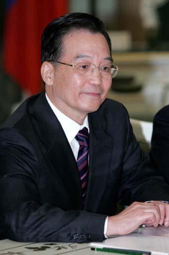 Премьер Государственного совета КНР Вэнь Цзябао. Архив