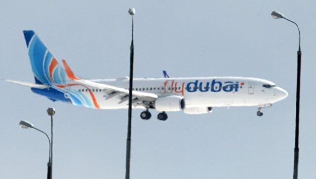 Самолет рейса Flydubai не получал разрешения диспетчера на взлет