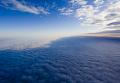 Облака над землей.