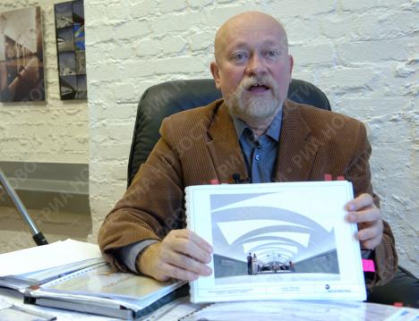 Главный архитектор Метрогипротранс Николай Шумаков