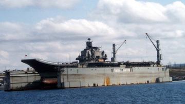 Авианесущий крейсер Адмирал Кузнецов
