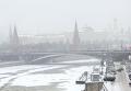 Зимний вид Москвы