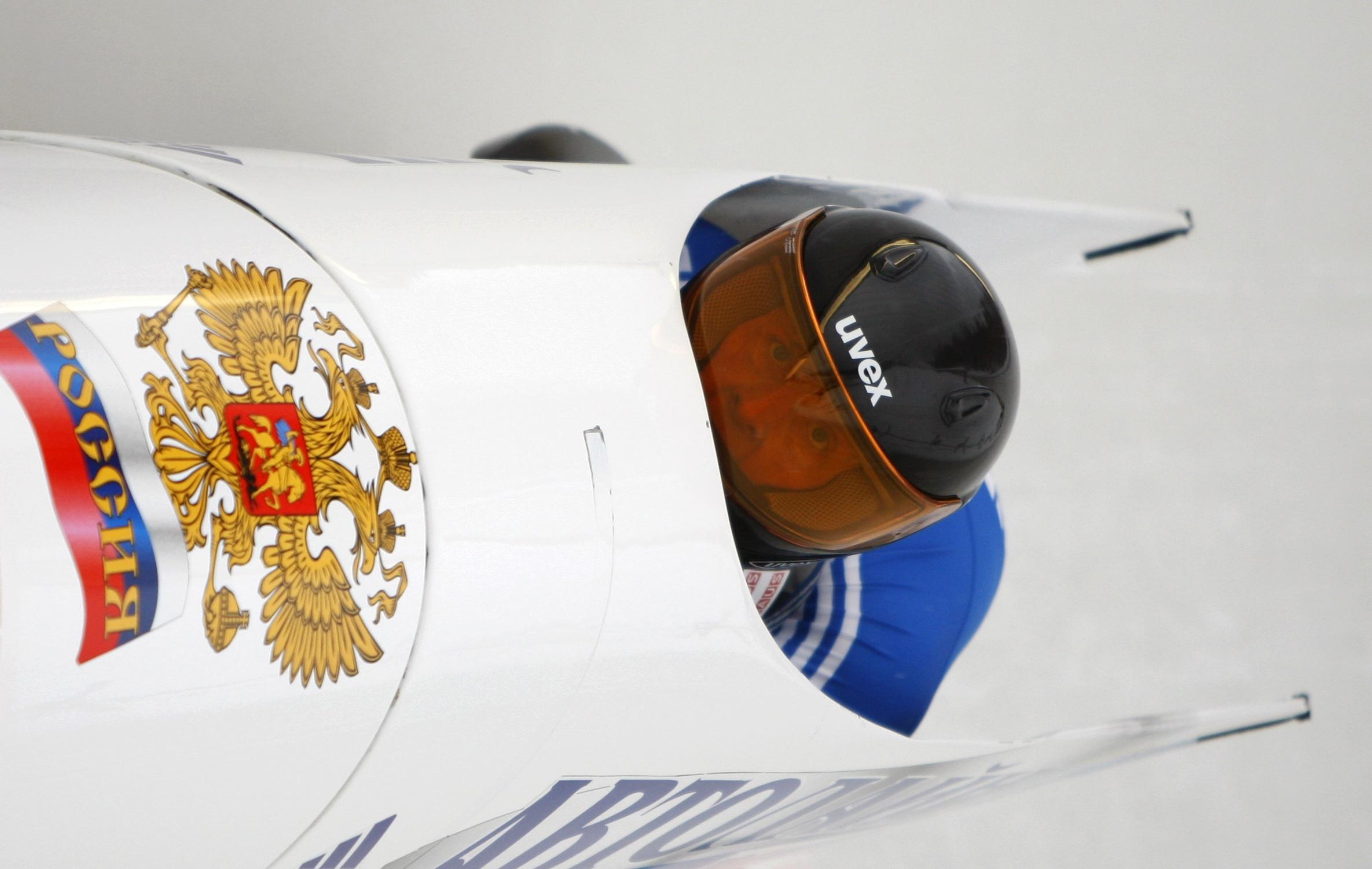 Российский экипаж бобслеисток
