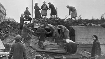 Блокада Ленинграда во время Великой Отечественной войны