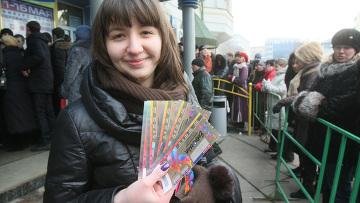 Продажа билетов на московские концерты. Архивное фото