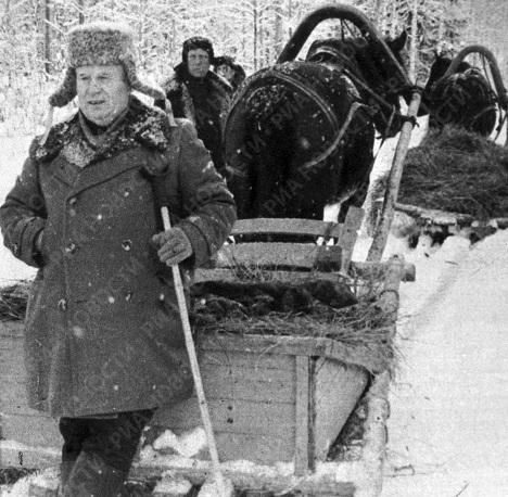 Советский партийный и государственный деятель Хрущев