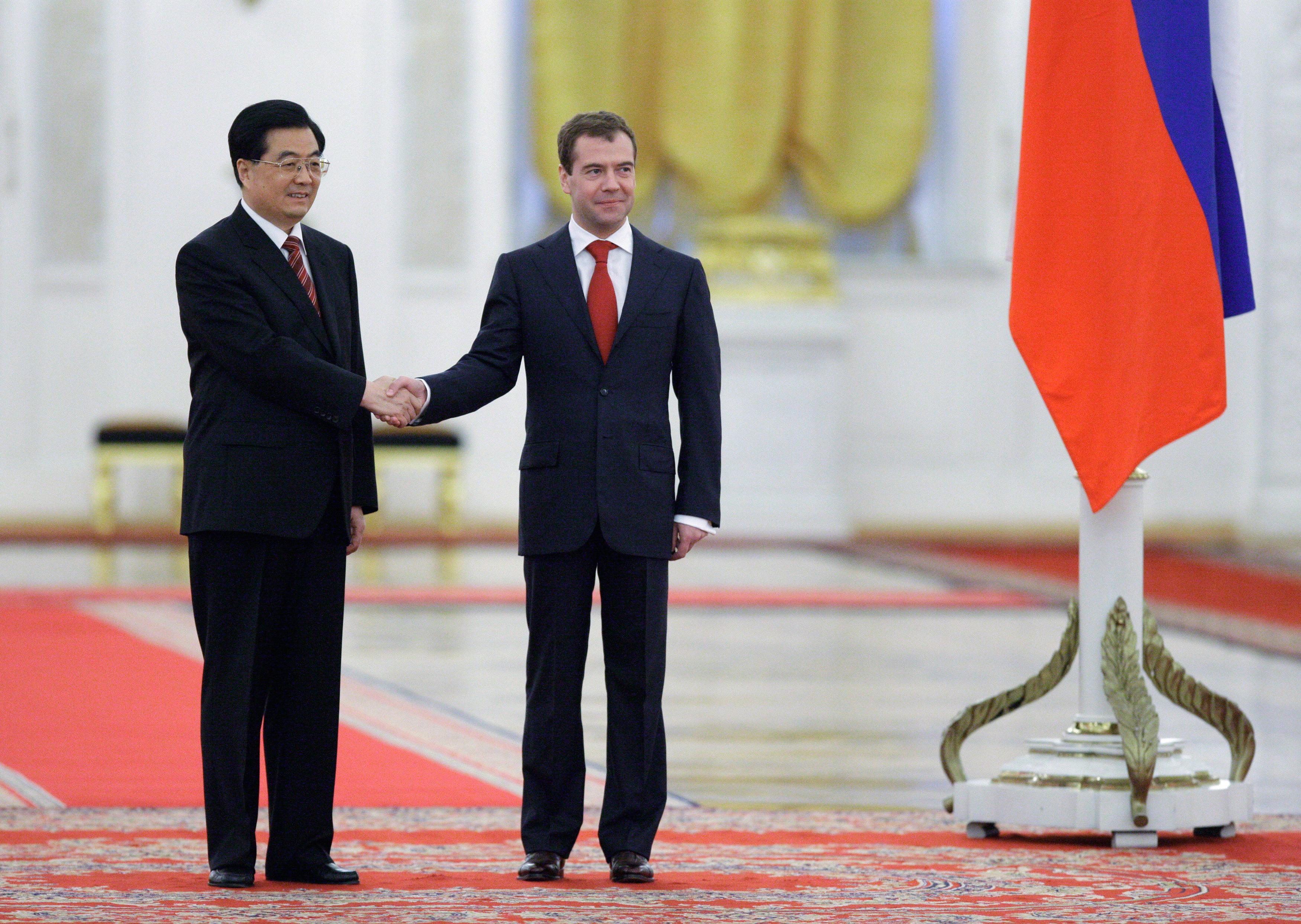 Итогом  российско-китайской встречи стал  меморандум о взаимопонимании