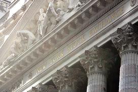 Нью-Йоркская фондовая биржа, архивное фото