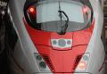 """Новейший скоростной поезд """"Сапсан"""" на Ленинградском вокзале"""