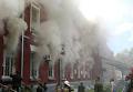 Пожар в тамбовской части спецназа ГРУ