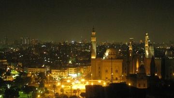 Вид Каира. Египет. Архивное фото