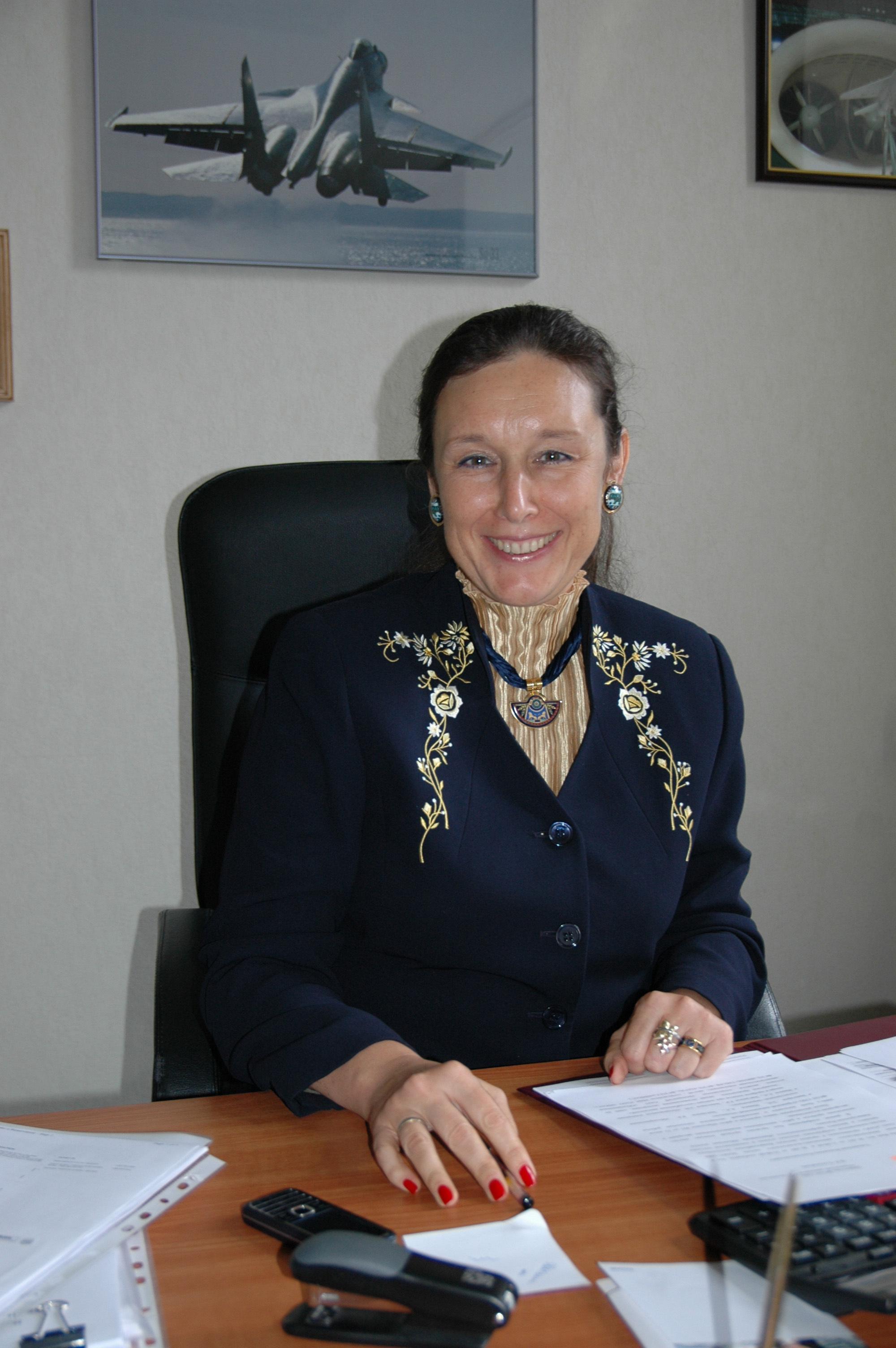 Директор департамента управления персоналом Объединенной авиастроительной корпорации (ОАК) Алла Вучкович