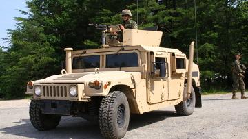 Морская пехота США на военной базе в Куантико (штат Вирджиния)