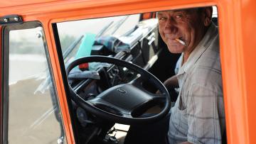 Водитель. Архивное фото