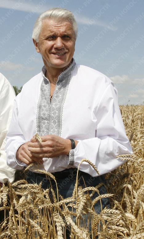 Председатель Верховной Рады Украины, лидер Блока Литвина Владимир Литвин