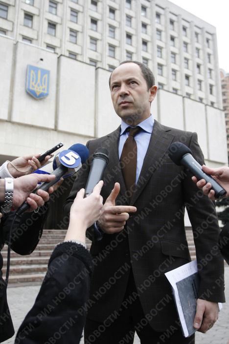 Сергей Тигипко — пятый претендент на пост президента Украины