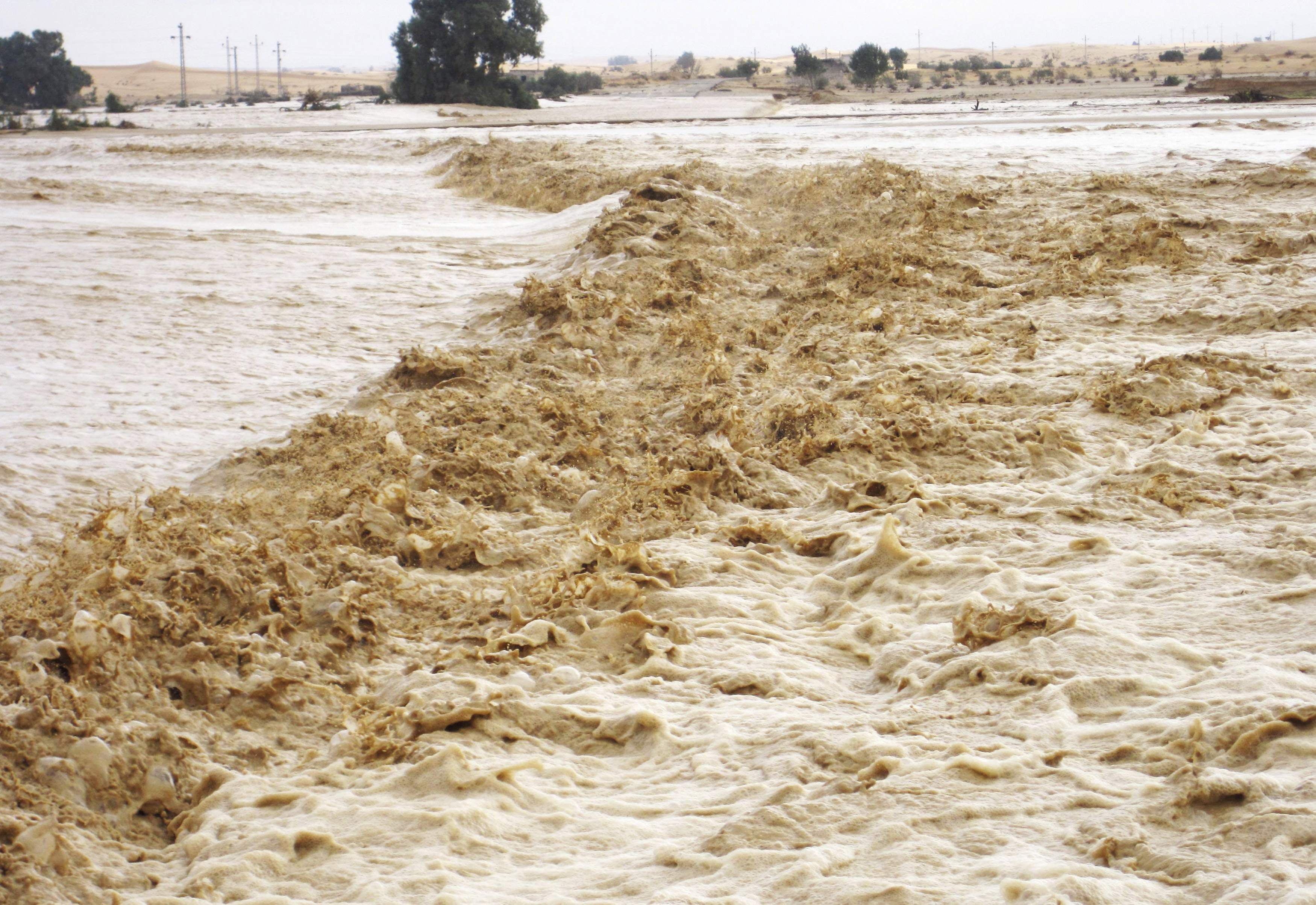 Наводнение в Египте