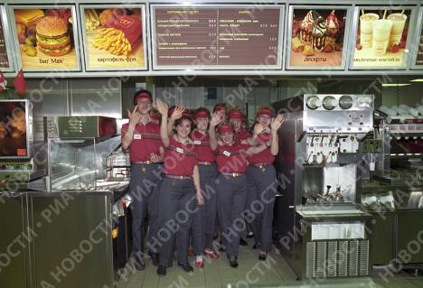Советско-канадский ресторан Макдональдс