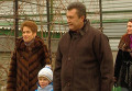 Виктор Янукович с супругой Людмилой