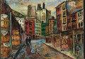 Давид Бурлюк (1882-1967)  «Вашингтонский рынок. Трибека», 1931 год Эстимейт: $40,000-60,000