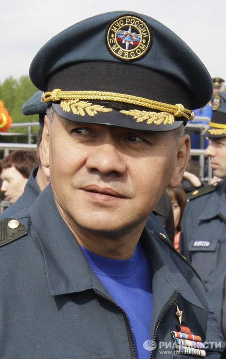 Глава МЧС РФ Сергей Шойгу