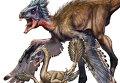 Резко различающееся строение контурных перьев у двух особей Similicaudipteryx на разной стадии развития