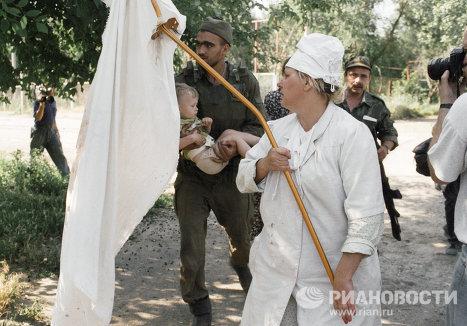 Освобождение заложников в Буденновске