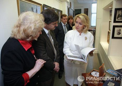 Светлана Медведева посетила Русский центр в г. Сан–Франциско