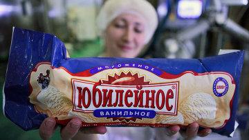 Производство мороженого на ОАО ТД Русский холод