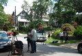 Недалеко от дома, где жили арестованные по обвинению в шпионаже журналистка Вики Пелаез и профессор Хуан Лазардо