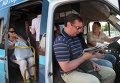 Работа маршрутных такси и автобусов в Москве
