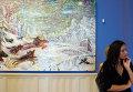 Открытие выставки Русская зима из Русского музея. Большое путешествие шедевров: Санкт-Петербург – Дели – Москва, Царицыно в Государственном музее-заповеднике Царицыно