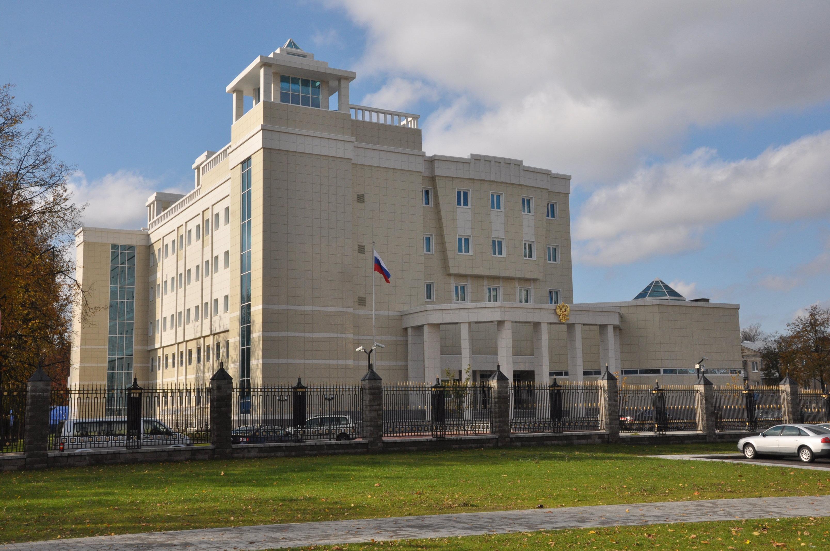 Посольство России в Минске. Архив