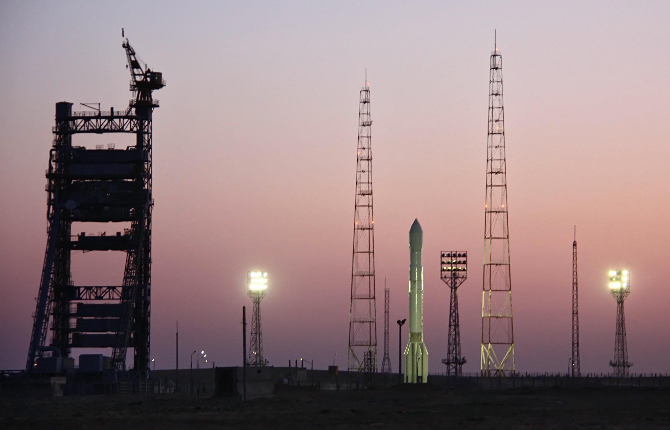 Пуск Ракеты-носителя Протон-М со спутником Глонасс. Архив