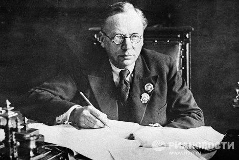 Советский учёный Владимир Визе