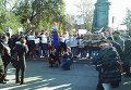 Преподаватели и студенты МГУП на митинге