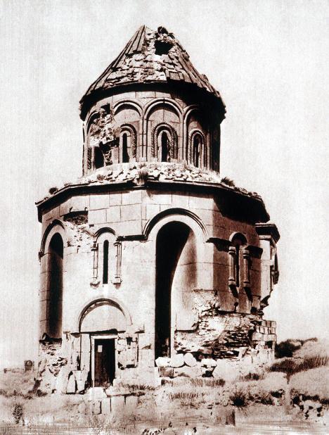 Церковь Абугамренц в городе Ани