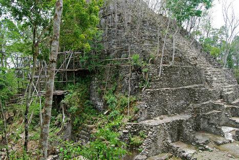 Эль-Мирадор в Гватемале