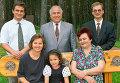 В.Черномырдин с семьей