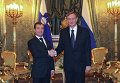 Д.Медведев и Д.Тюрк