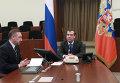 Д.Медведев пообщался с гражданами в своей приемной
